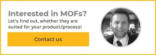 Contact us to find out whether MOFs are suited for your product/process!