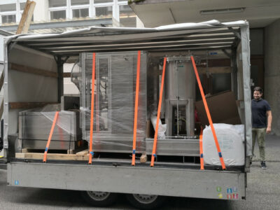 delivery of all parts of the production line